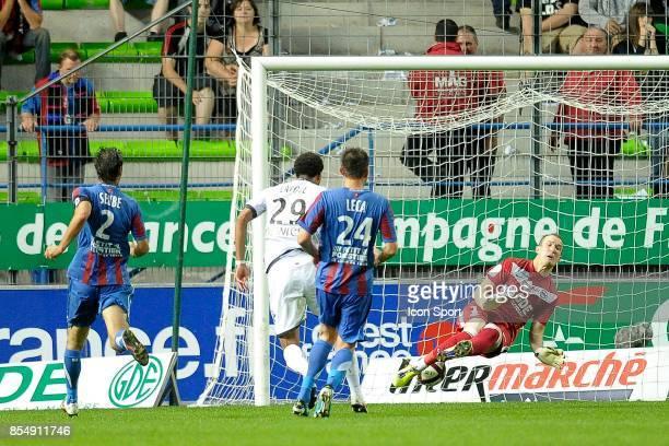 But Etienne CAPOUE Caen / Toulouse 5eme journee de Ligue 1