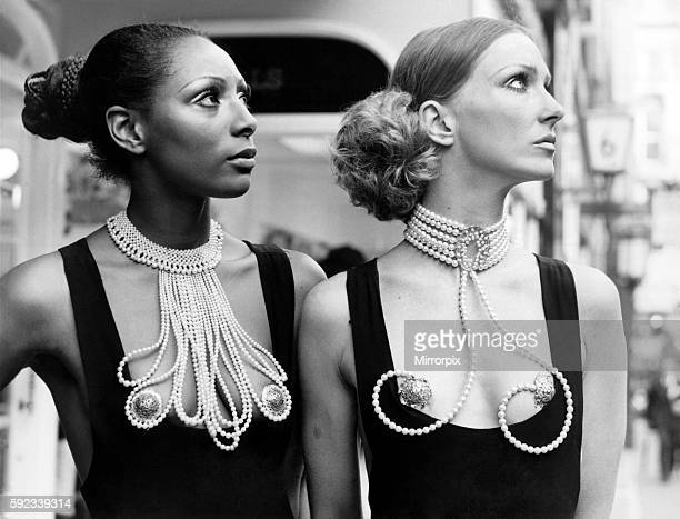 But in London's highclass Bond Street couture where the pearls are definitely real these adornments are called respectably Erogenous Zone jewellery...
