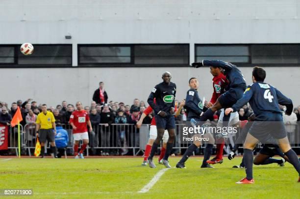 But Johan MARTIAL Issy Les Moulineaux / Brest 32e Finale Coupe de France