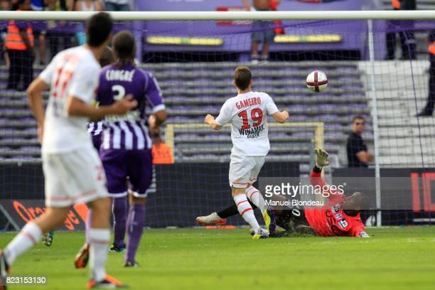 But Kevin Gameiro Toulouse / PSG 4eme journee de Ligue 1