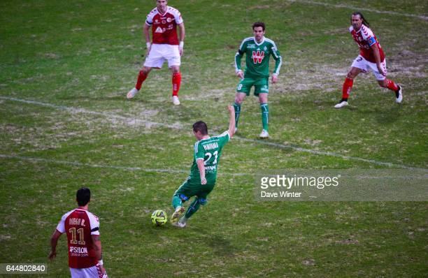 But Romain HAMOUMA Reims / Saint Etienne 20eme journee de Ligue 1 Photo Dave Winter / Icon Sport
