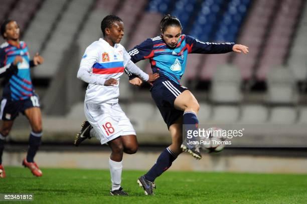 But Sandrine BRETIGNY Lyon / FC Rossiyanka 8eme de Finale Ligue des champions