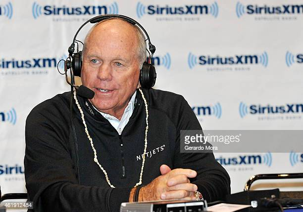 Butch Harmon speaks during 'Harmon Golf Radio Show' on SiriusXM at Orange County Convention Center on January 21 2015 in Orlando Florida