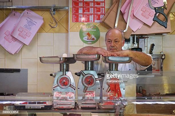 Butcher in France