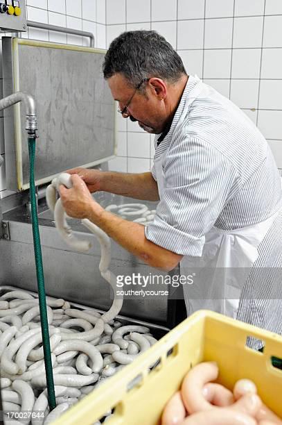 Butcher produire suisse traditionnelle, Boudin blanc