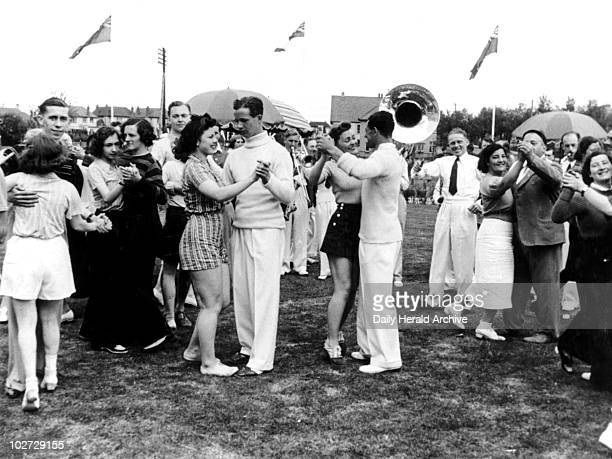 Butlins holiday camp 8 July 1939 'Dancing sessions are held during the day and every evening either on lawns or in one of the ballrooms Two large...
