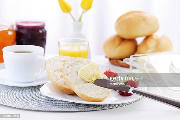 Pain et du beurre