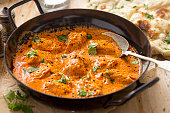 Butter chicken curry with tender chicken breast, cream, butter & honey