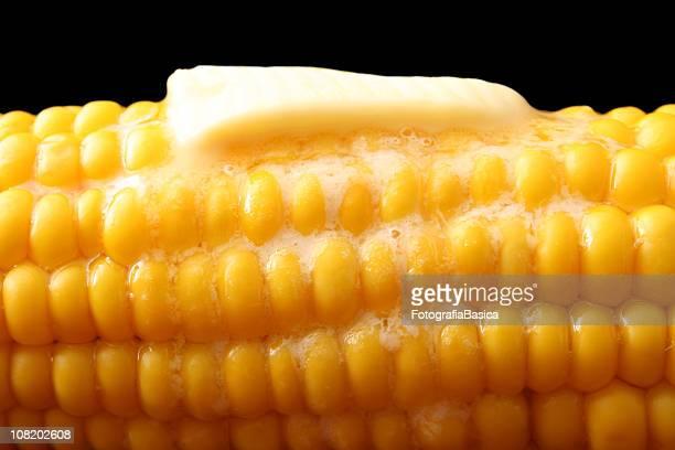 Mantequilla de corte de fusión en caliente maíz,