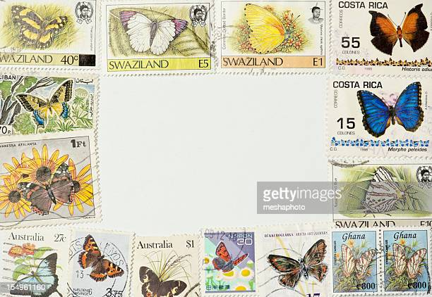 Butterfly Photo Frame Postage Stamps