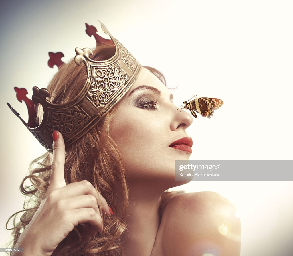 Butterfly Queen : Stock Photo