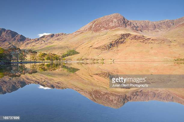 Buttermere lake on a still May morning.