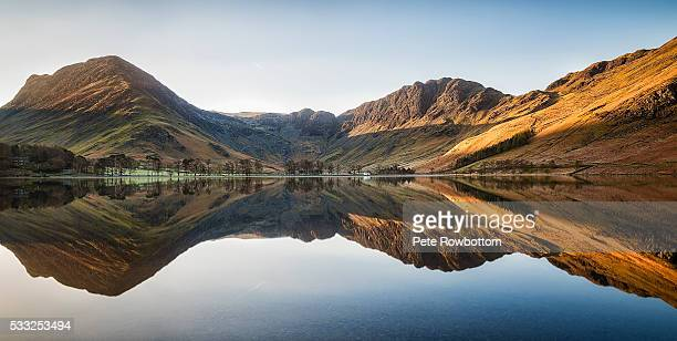 Buttermere mirrored