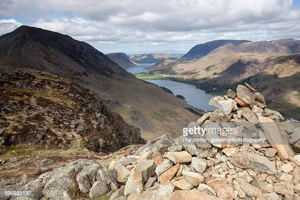 Buttermere valley from haystacks