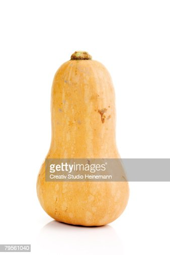 'Butternut pumpkin, close-up'
