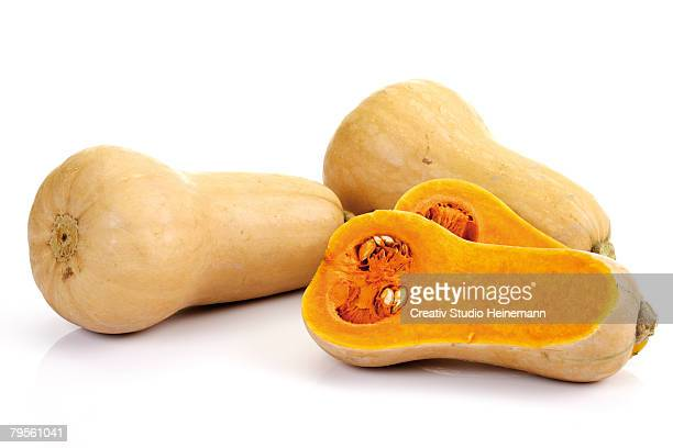 'Butternut pumpkins, close-up'