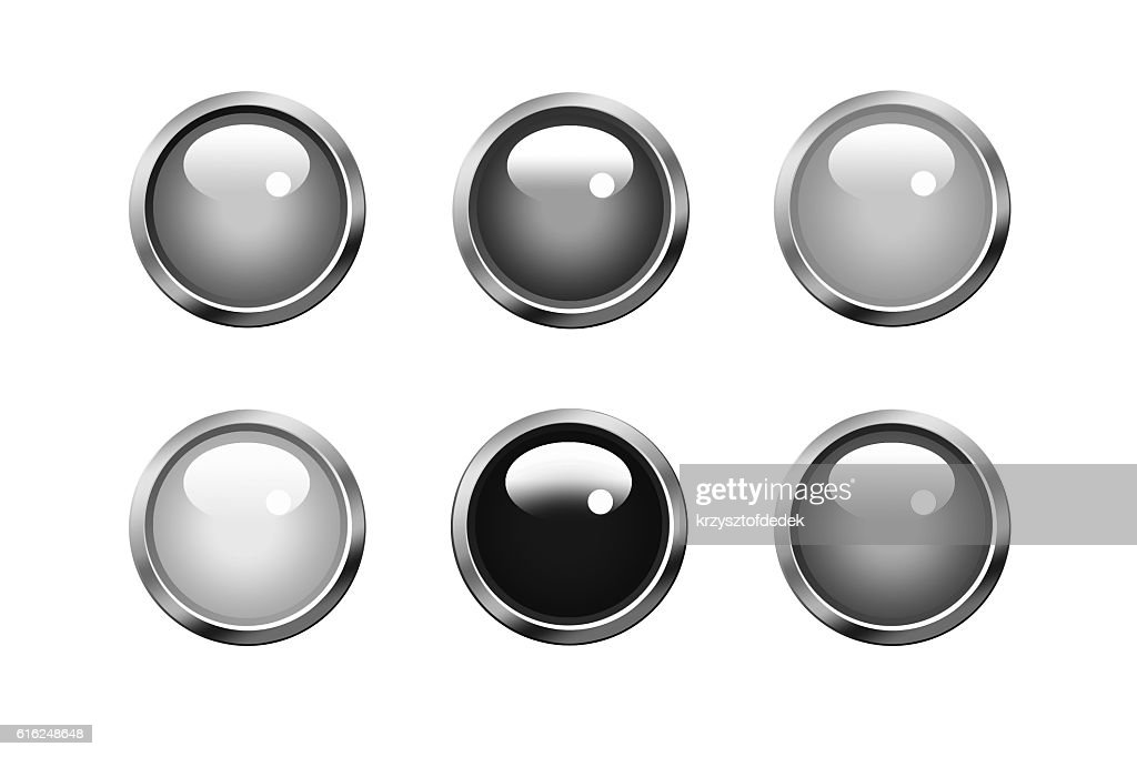 button : Stock Photo