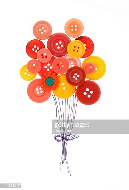 Buttons as balloons