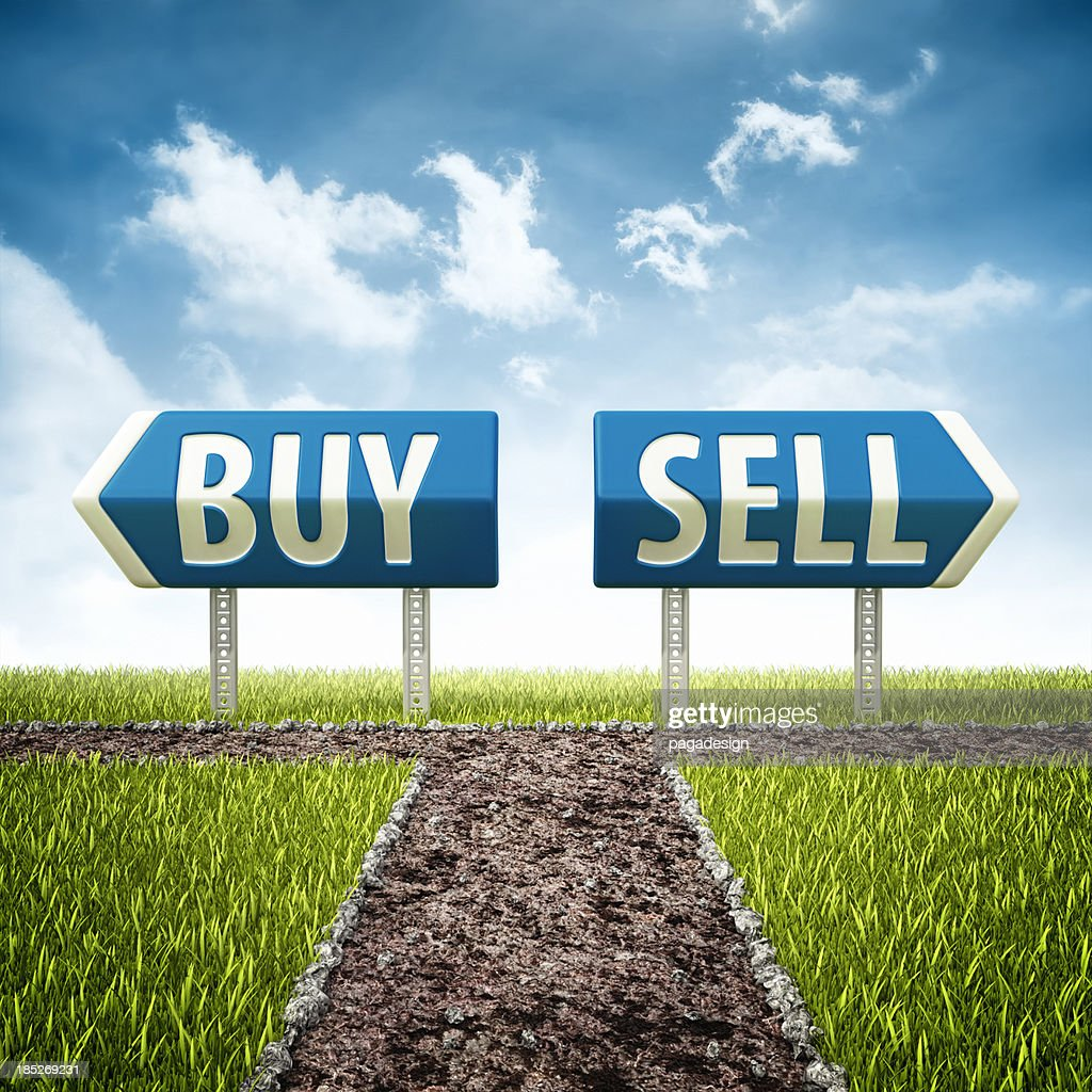 Buy and sell crossroad stock photo getty images