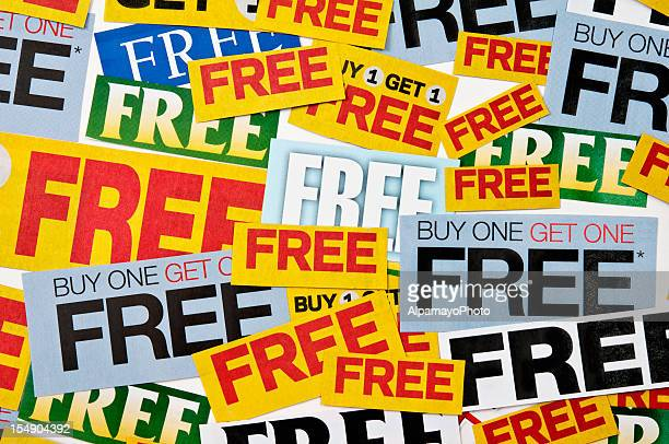 Buy one get 1 free offering (horizontal, mixed) - XII
