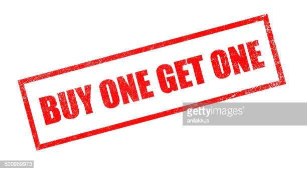 Buy One Get One Rubber Stamp