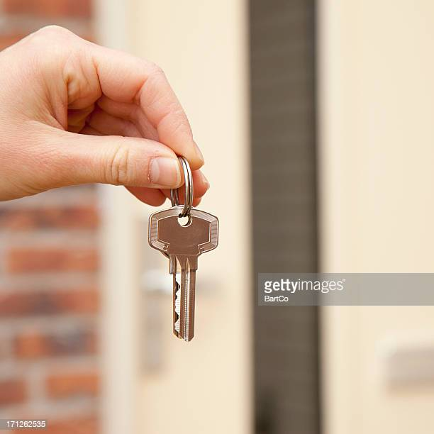 Buying a new house, real estate. Key