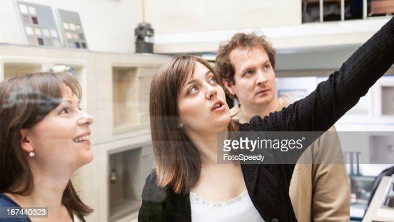 Buying a new kitchen : Stock Photo