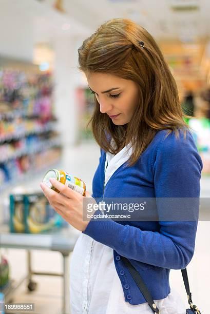 Buying baby food