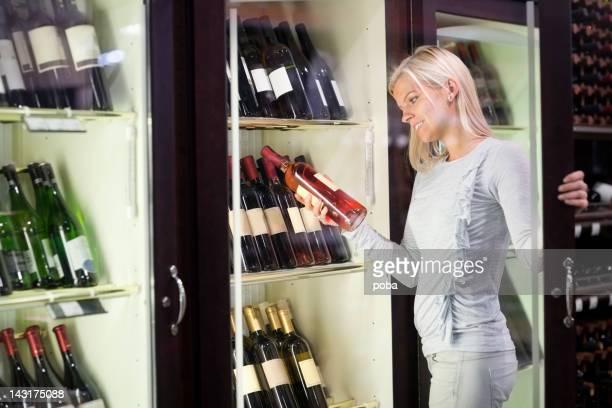 Wein im Supermarkt kaufen