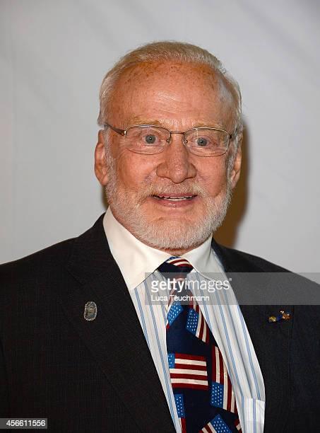 Buzz Aldrin attends Steiger Award 2014 at the LWLIndustriemuseum Henrichshuette on October 3 2014 in Hattingen Germany