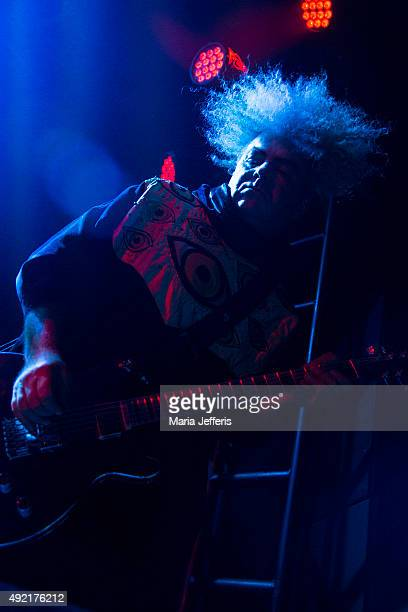 Buzz Osborne of Melvins performs at Electric Ballroom on October 10 2015 in London England