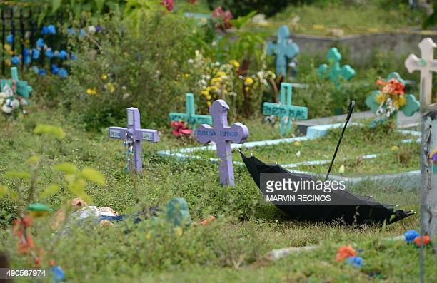 STORY by Carlos Mario Marquez The corpse of a cemetery worker allegedly killed by members of the Mara Salvatrucha gang lies on the ground at the...