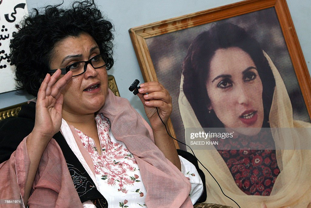 FAMILY By Danny Kemp Ghinwa Bhutto Widow Of Murtaza Bhutto The - Bhutto family