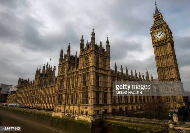 STORY by DENIS HIAULT A general view of of the Palace of Westminster with the Great Westminster Clock more commonly known as 'Big Ben' seen on April...