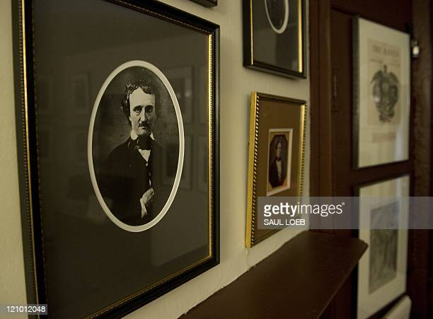 STORY by Fabienne Faur USliteraturemuseumeconomy Photos of USwriter Edgar Allan Poe and his family hang on the wall of the Edgar Allan Poe House and...