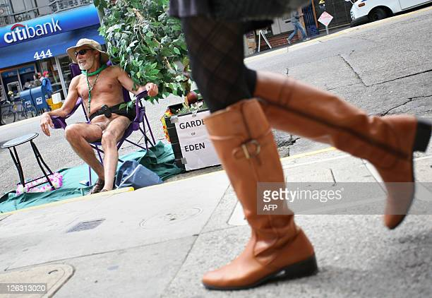STORY by Hermione GEE LifestyleUSgaynudismlawstravel Naturist George Davis hangs out in the Castro district of San Francisco where he resides on...