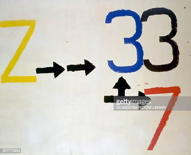 Z 3 by Jannis Kounellis Gracia 20th century Turin Galleria Civica D'Arte Moderna E Contemporanea