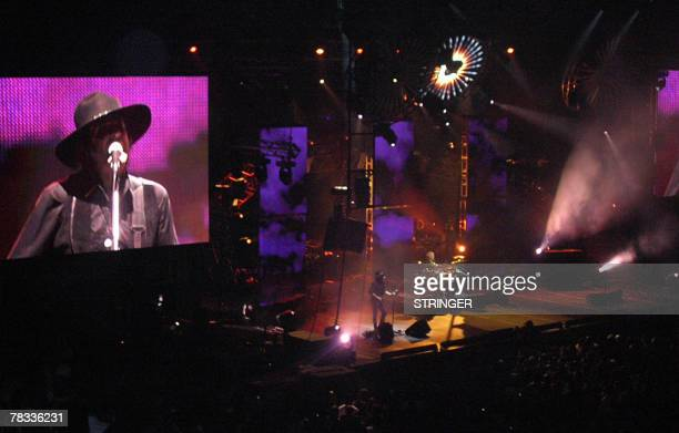 STORY by Juan Castro Olivera USLatammusic Argentine rock group Soda Stereo performs 05 December 2007 in Miami Florida during their comeback tour The...