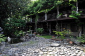 CULTURE FEATURE by Karl Malakunas A general shot shows the Bale Dutung the house of chef and artist Claude Tayag in Angeles Pampanga north of Manila...