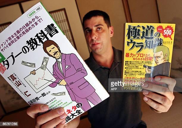 STORY 'JAPANECONOMYFINANCECRIMEYAKUZA' By Kimiko de FreytasTamura This photo taken on March 20 2009 shows Jake Adelstein a former Yomiuri Shimbun...