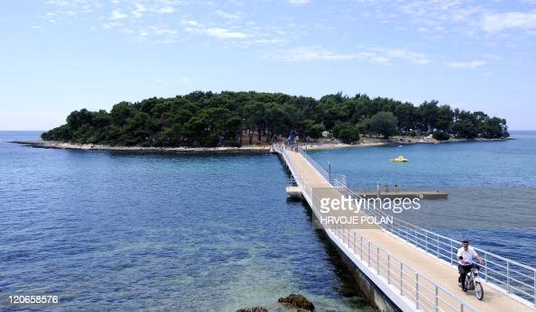 STORY by Lajla Veselica A picture taken on August 1 2011 shows naturist camp Koversada near the Croatian northern Adriatic town of Vrsar Croatia one...