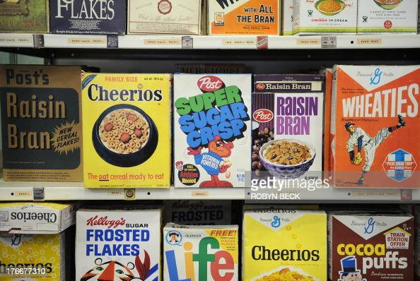 STORY by Leila MACOR USCinemahistory Boxes of breakfast cereal from various decades going back as far as the start of the early 20th century are seen...