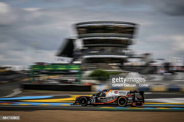 SO24 By Lombard Racing #22 Ligier JS P2 Judd with Drivers Vincent Capillaire Olivier Lombard and Jonathan Coleman during the 84th running of the Le...