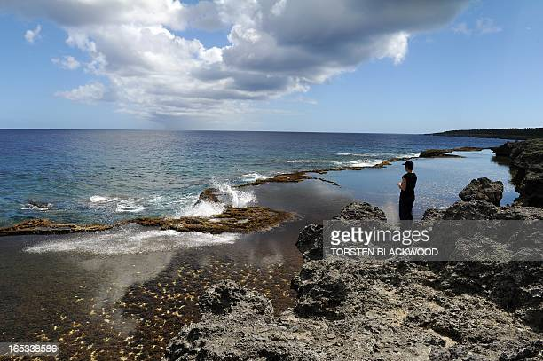 STORY 'TONGAECONOMYTOURISM' by Madeleine Coorey Known as Mapu'a a Vaca the blowholes and rock pools near Ha'akame are believed to be the most...