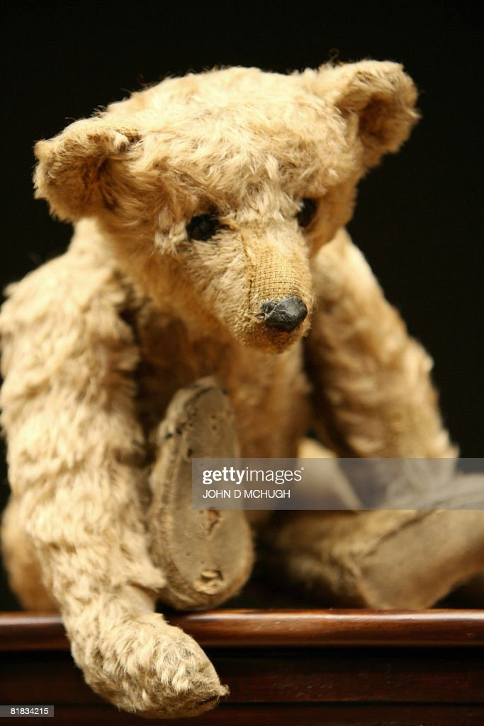 STORY by Mathilde Richter GermanyChinagamesmanufacturingglobalisation Files Picture taken on August 30 2006 shows 'Growler' a Steiff rodbear at...