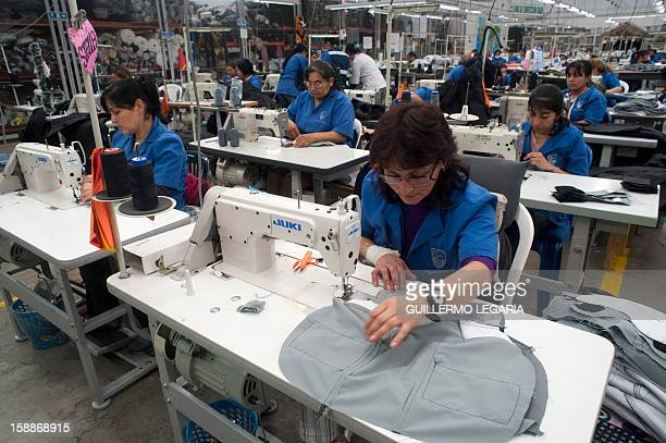 STORY by Nina Negroni Employees sow vests and armoured clothing at the factory of Colombian businessman Miguel Caballero on the outskirts of Bogota...