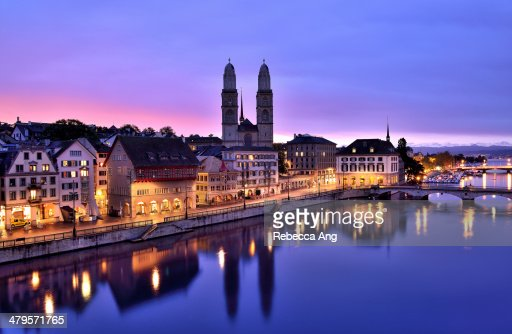 By River Limmat No. 8