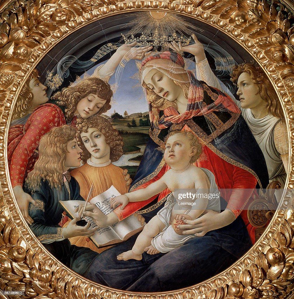 by Sandro Botticelli Firenze Galleria degli Uffizi