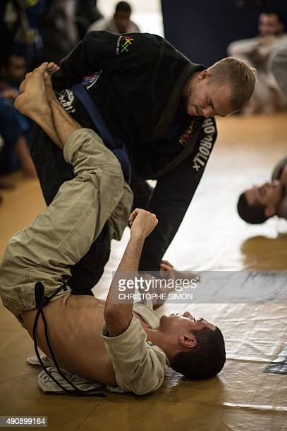 STORY by Sebastian Smith New Zealander Jason Lee practices jiujitsu in Rio de Janeiro Brazil on September 14 2015 Once restricted almost entirely to...