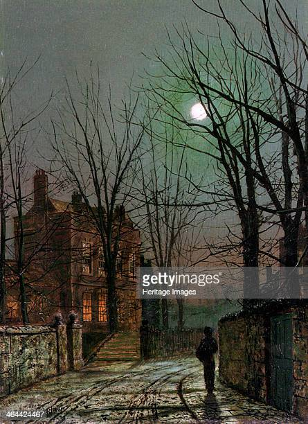 'By the Light of the Moon' 1882 From a private collection